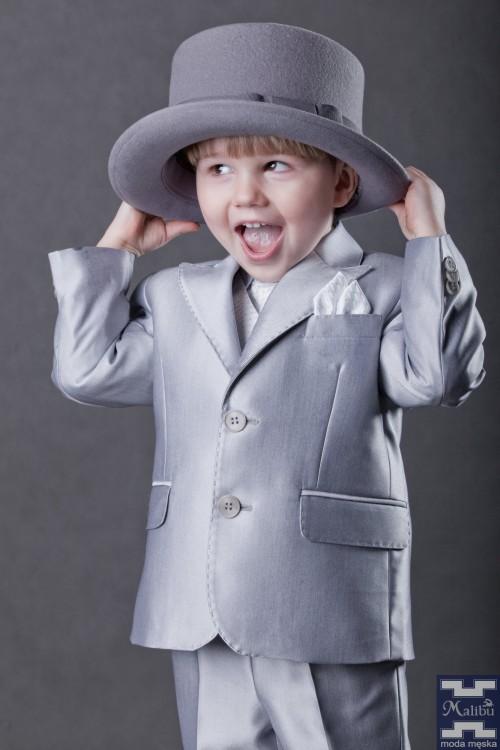 Srebrny garnitur dziecięcy