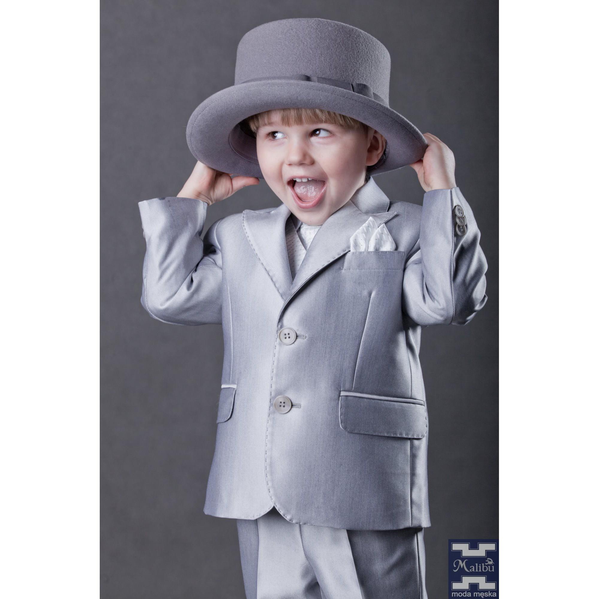 0951a9bf9a5ee Srebrny garnitur dziecięcy