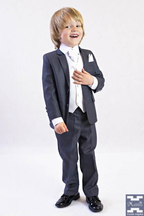 Szary garnitur dziecięcy